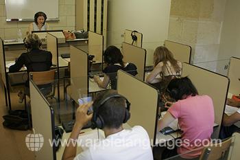 Centro multimedia de la escuela