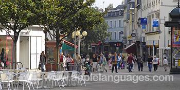 El centro de la ciudad, Rouen