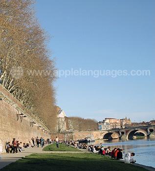 Orillad el río de Toulouse