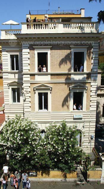 Escuela de italiano en Roma