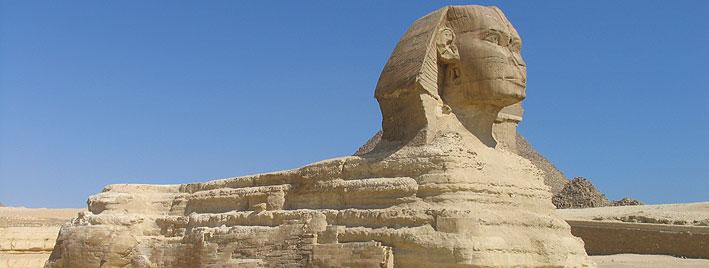 La Gran Esfinge de Guiza, Egipto