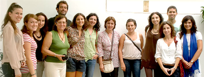 Clase de portugu�s en Faro