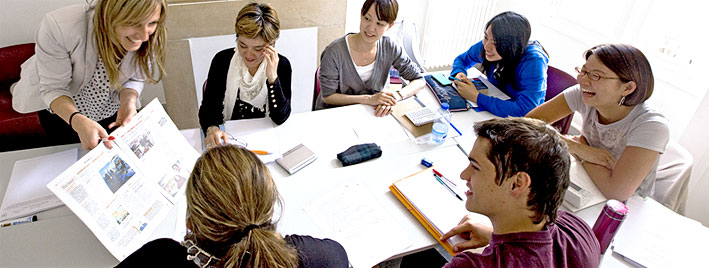 Clase de francés en Montpellier