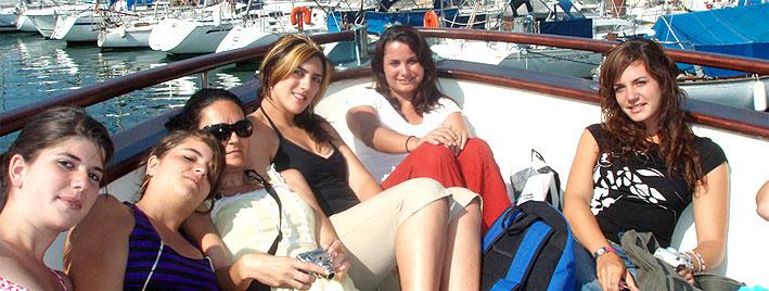 Salida en bote, Montpellier