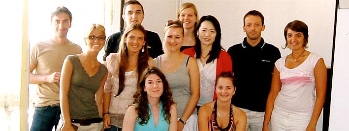 Aprendiendo francés en grupo en Montpellier