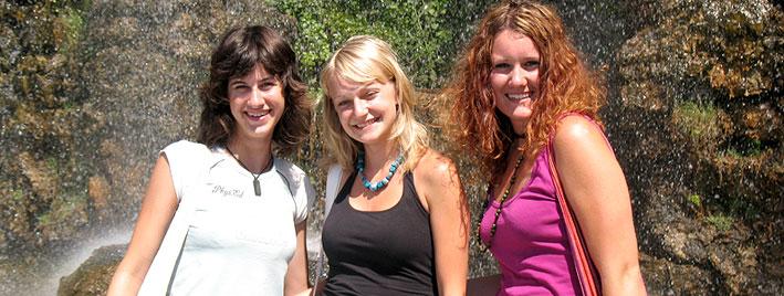 Haciendose amigos en el curso de francés en Niza