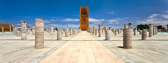 Torre Hassan, Rabat, Marruecos