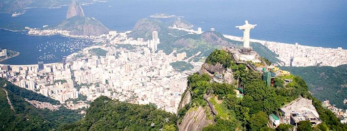 Vista a�rea de Rio de Janeiro, Brasil