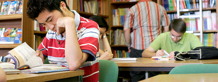 Librería en nuestra escuela de francés en Tours
