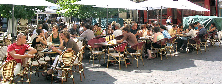 Café en Tours, Francia