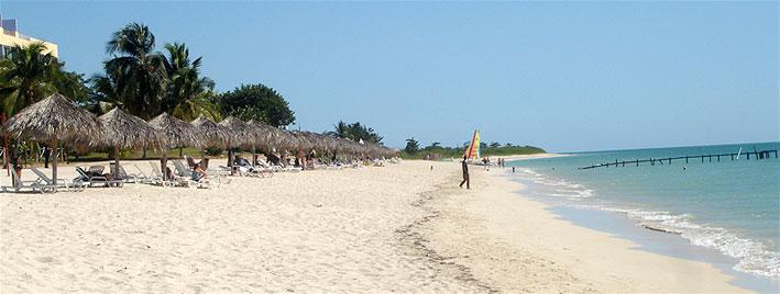 Playa en Trinidad, Cuba