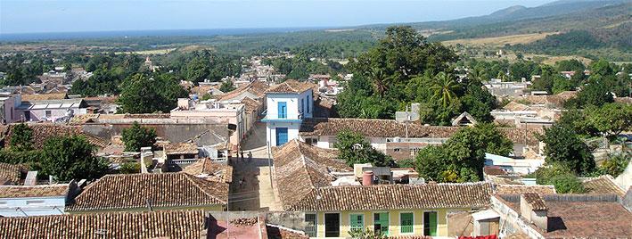 Techos en Trinidad, Cuba